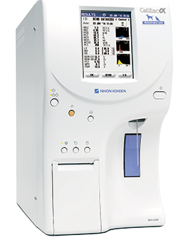 Celltac α Veterinary,Celltac Alpha,Cellta Alpha Vet,Nihon Kohden,celltac,hematology analyzer,MEK-6450